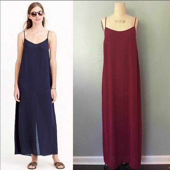 J. Crew Dresses & Skirts - NWOT Jrew crepe maxi dress